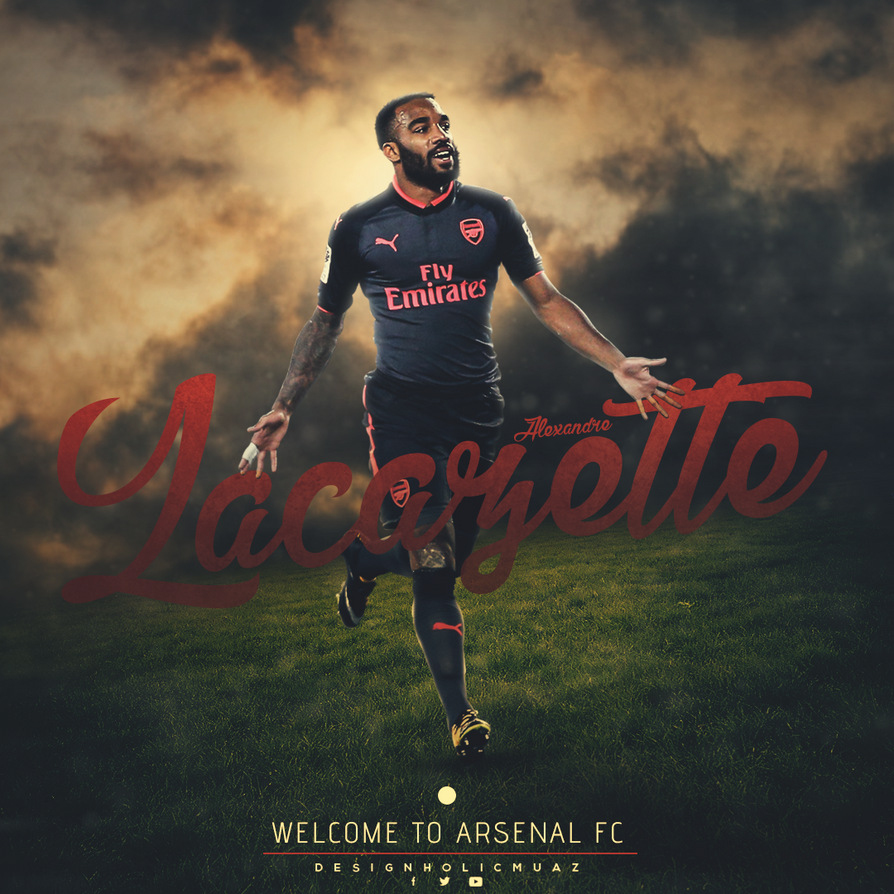 Alexandre Lacazette By Muajbinanwar On DeviantArt
