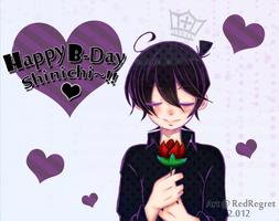 Happy B-Day Tantei-kun!! by RedRegret