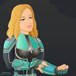 Carol/Captain Marvel's Kree Tech
