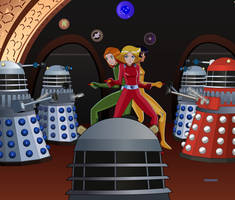 Storm of the Daleks Fanfic Cover