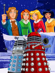 Storm of the Daleks Fanfic Cover by jettmanas