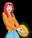 Mary Jane- Radioactive Spider Bite