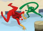 Spider-Girl vs. Scorpion