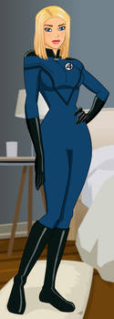Invisible Woman- Fantastic Four Movie