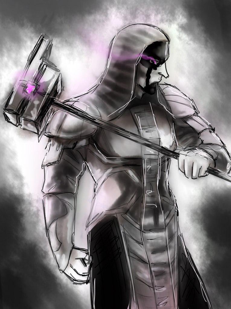 Ronan the Accuser - sketch by Himitsu4Schuu