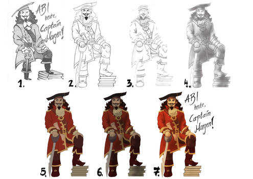 Captain Morgan's Graduation [StepByStep]