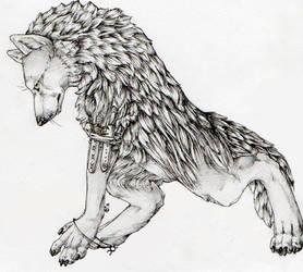 Pagan Werewolf by DavidBrainbow