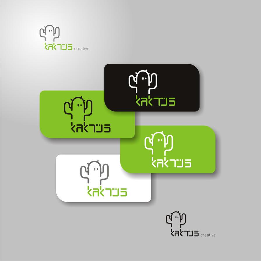 kaktus creative logo by mermer