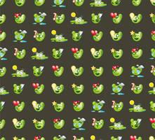 cactus emotion pattern by mermer