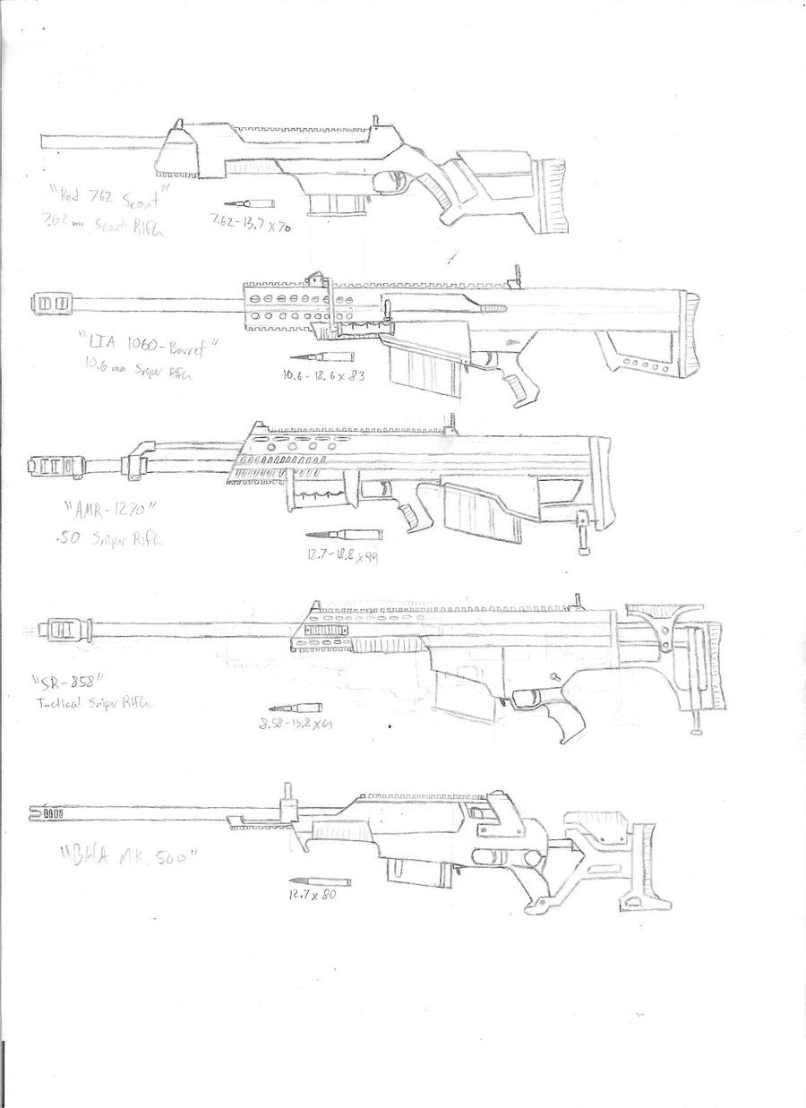 CPool Sniper Rifles V1 by KillSwitchWes