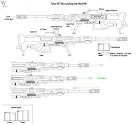 'Falcon AVR' 15mm AV Rifle by KillSwitchWes