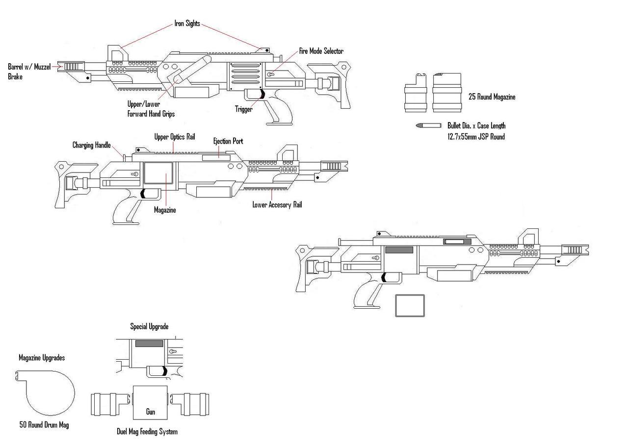 'HSAW50' .50 LMG by KillSwitchWes