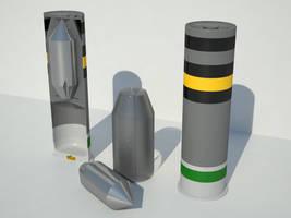Ammo Types: Saboted Armor Penetrator Slug by KillSwitchWes