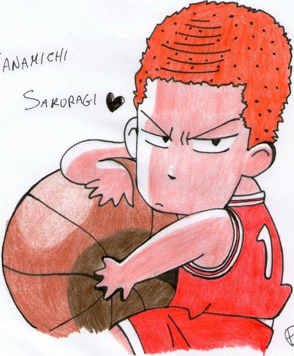 Hanamichi Sakuragi- Slam Dunk By Conzy94 On DeviantART