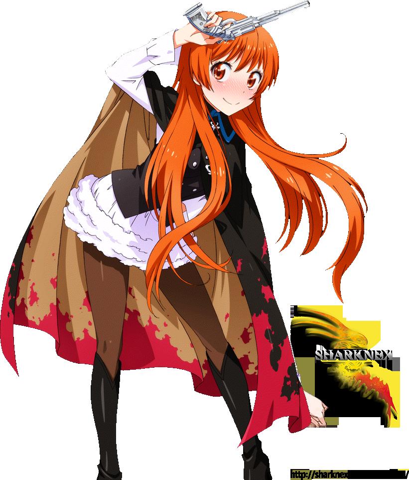 Nisekoi marika magical girl render by sharknex