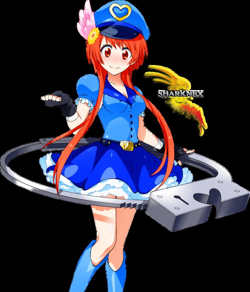 nisekoi marika magical girl 2 render by sharknex on deviantart