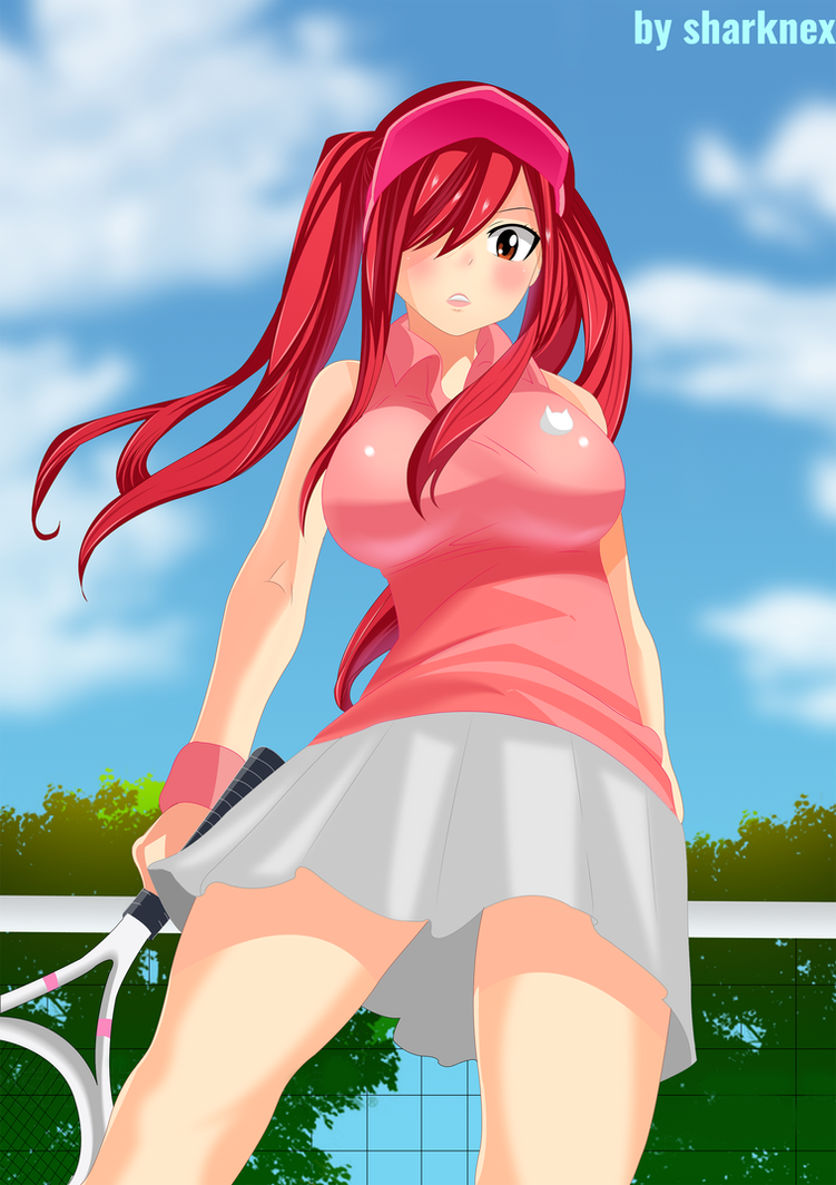 hello guys! Fairy_tail___erza_tennis_player_by_sharknex-d9189ha