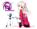 (Request) Charlotte - Tomori nao sitting render