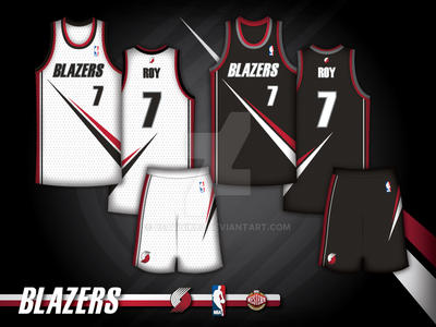 beatnik83 5 2 Portland Trailblazers concept by beatnik83 e700d5b61