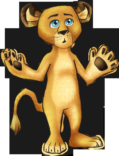 Madagascar 2 - Alex Cub by jackzarts on DeviantArt