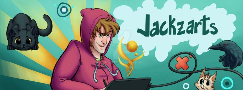 NEW FACEBOOK PAGE by jackzarts
