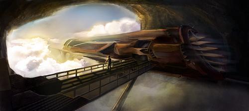 Sky Train by AndySfd
