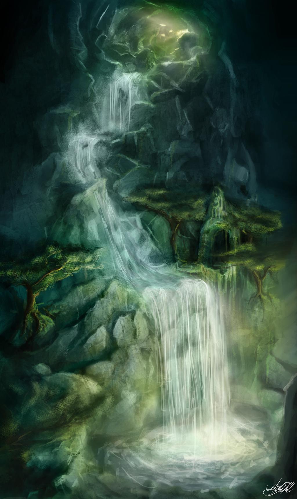 Silent Cave by AndySfd