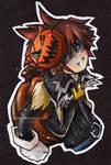 KH. Chibi Sora+Halloween