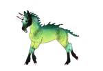 M342 Boucle Foal / Boucleween