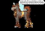W453 Boucle Foal Design | Prehistoria