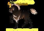 Z005 Boucle Foal Design | Astrid