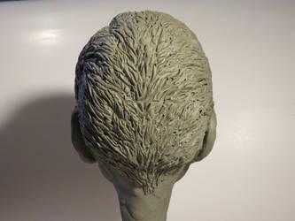 Ken Watanabe - Clay Sculpt - Rear View by LazerWhale