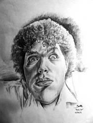 Psycho Eyes - Self Portrait by LazerWhale