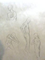 Life Drawing - 5 Min Roughs