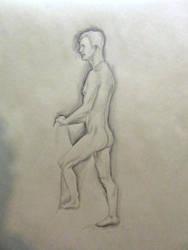 Life Drawing Sketch - 20(?) Min