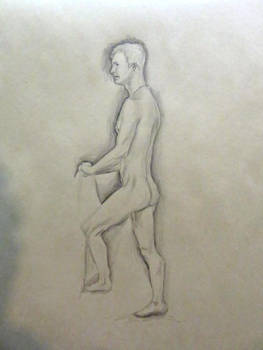 Life Drawing Sketch - 20(?) Min