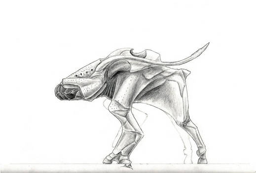 Creatures of Aegis Delta - Xenovenator synomaxilla
