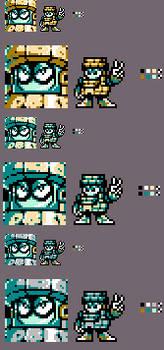 A certain Magaman 11 Robot Master sprite
