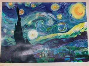 My Try at Starry Night