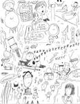 Page of Random Doodles