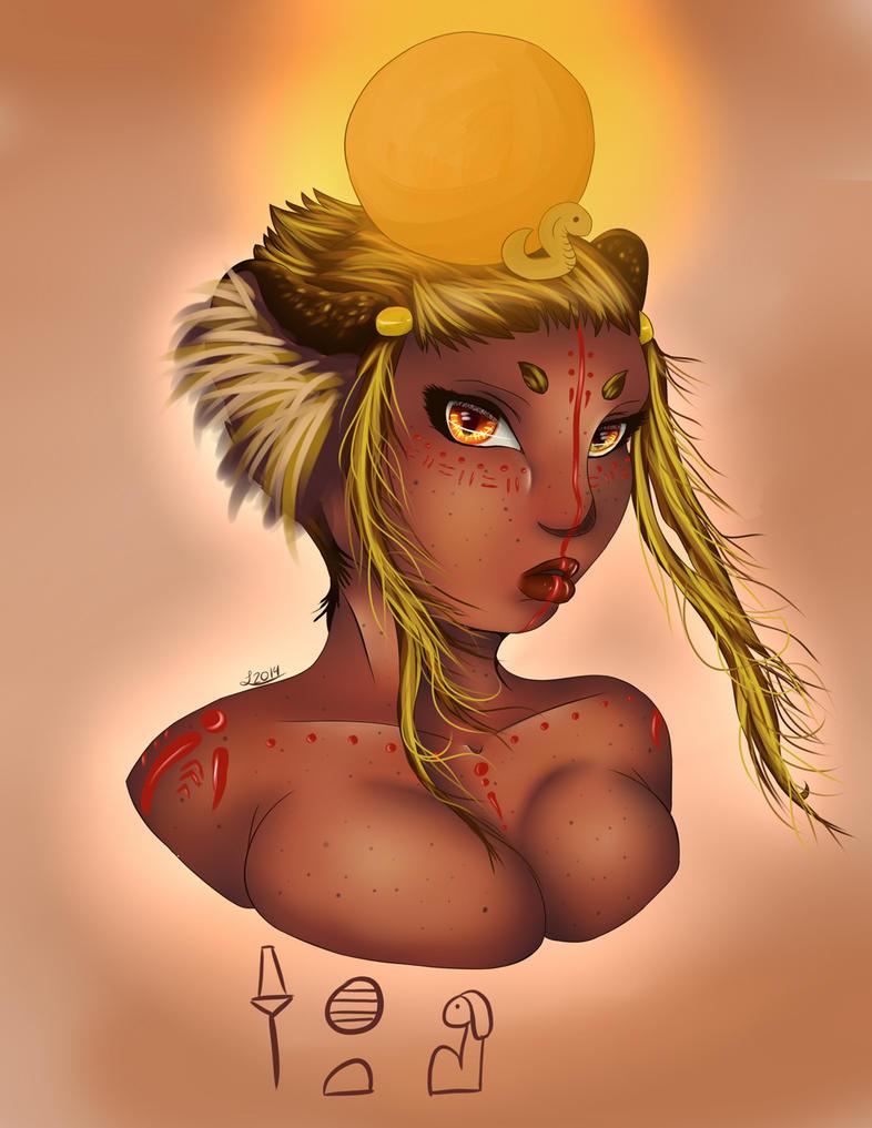 Sekhmet by WhatIsThis