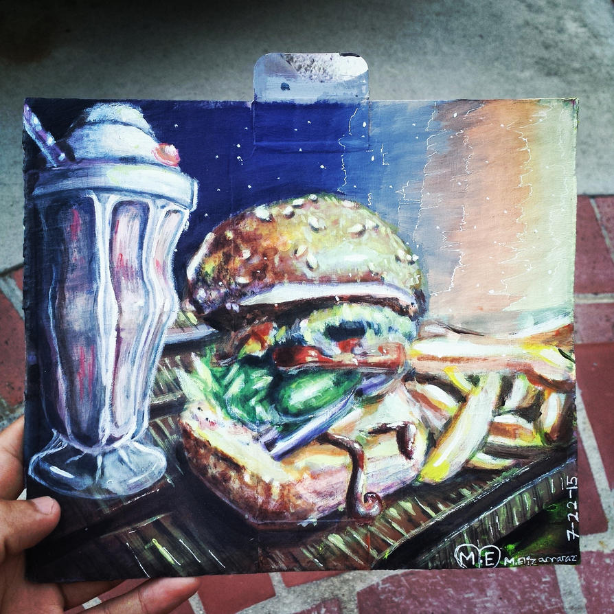 hamburguesa by ChocoFlam