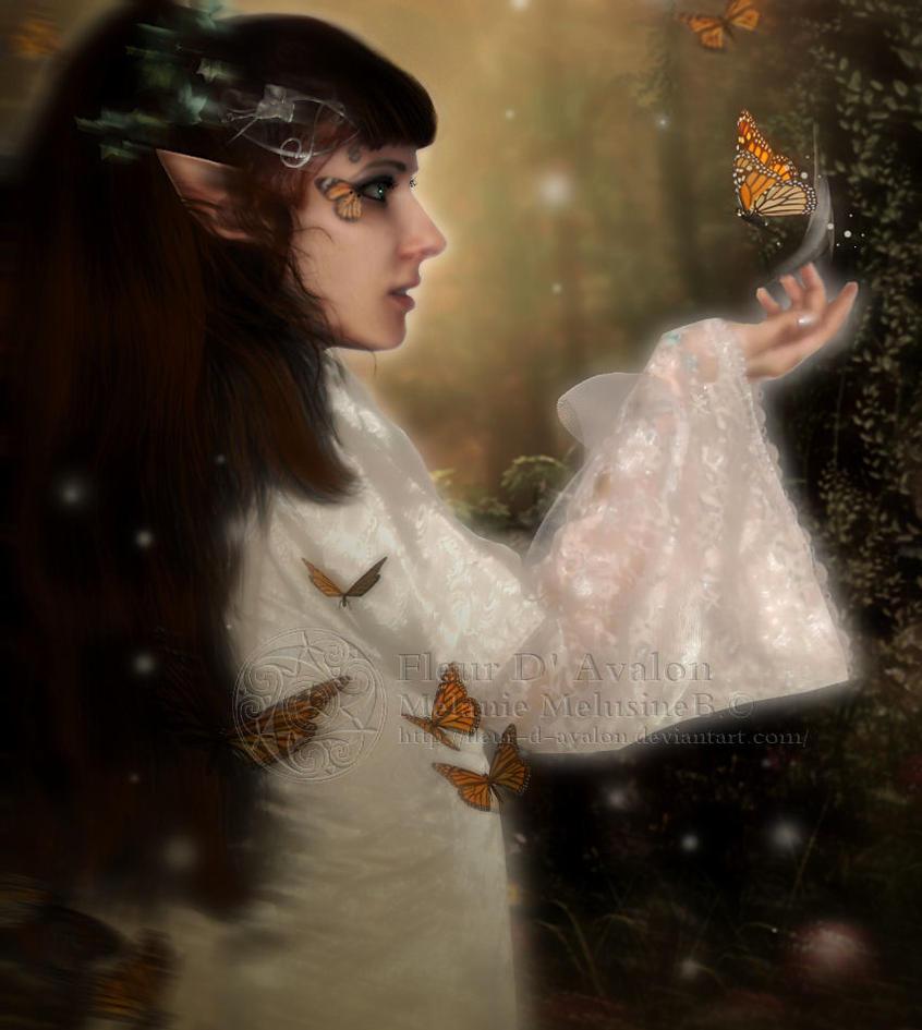 MMelusine fleur d'Avalon by MelieMelusine