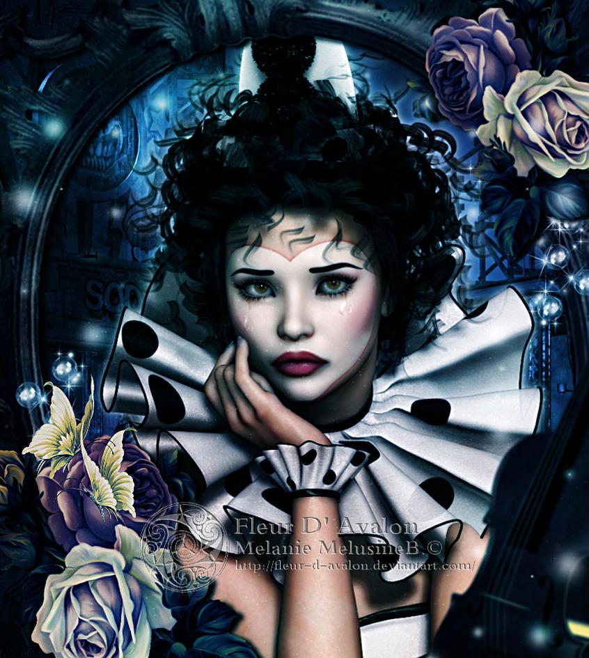 Sad Clown by Fae-Melie-Melusine