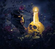 Raven's pendulum by MelFeanen