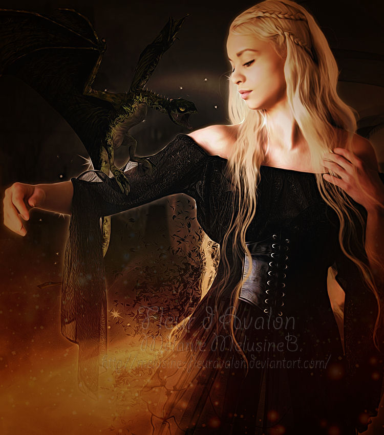 The Khaleesi by MelieMelusine