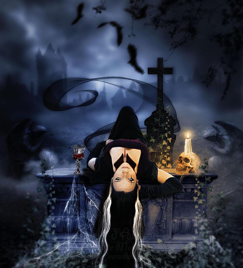Le Vampire du Cimetiere by MelieMelusine