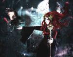 La sorciere et le corbeau