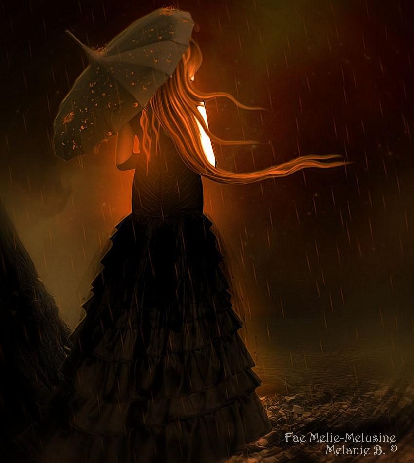 Golden Rain by MelieMelusine