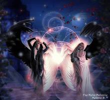 Dark and Light by MelFeanen